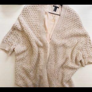 Zara knit oversized cardigan/sweater.